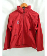 Women's Patagonia Saturn Red Full Zipper Jacket Size S - $36.99