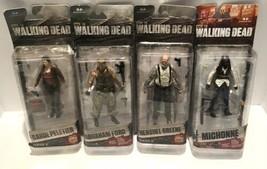 The Walking Dead AMC Carol Abraham Hershel Series 6 & Michonne Series 7 Figures - $59.40