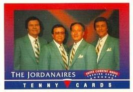 The Jordanaires trading Card (Super Country Music) 1992 Tenny - $3.00