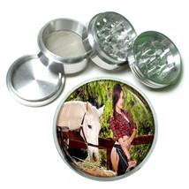 Farmers Daughter Pin Up Girls D4 63mm Aluminum Kitchen Grinder 4 Piece Herbs - $11.05