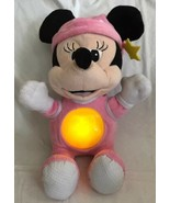 Disney Baby Minnie Mouse Plush Musical Crib Toy Lullaby Spanish Singing ... - $34.64