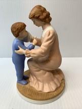 Vintage Heritage House 1987 My Mother's Love Fine Porcelain Figurine   - $11.83