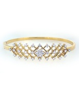 Beautiful genuine 14k white and yellow gold  br... - $1,800.00