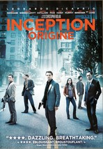Inception DVD Leonardo DiCaprio Joseph Gordon-Levitt Ellen Page Tom Bere... - $2.99