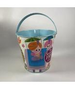 """Vintage tin Sand pail  5.5"""" x 5"""" - $11.88"""