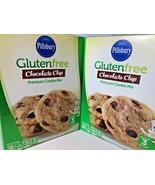 Pillsbury Gluten Free Chocolate Chip Cookie Baking Mix 2 Pack GF Boxes 1... - $19.79