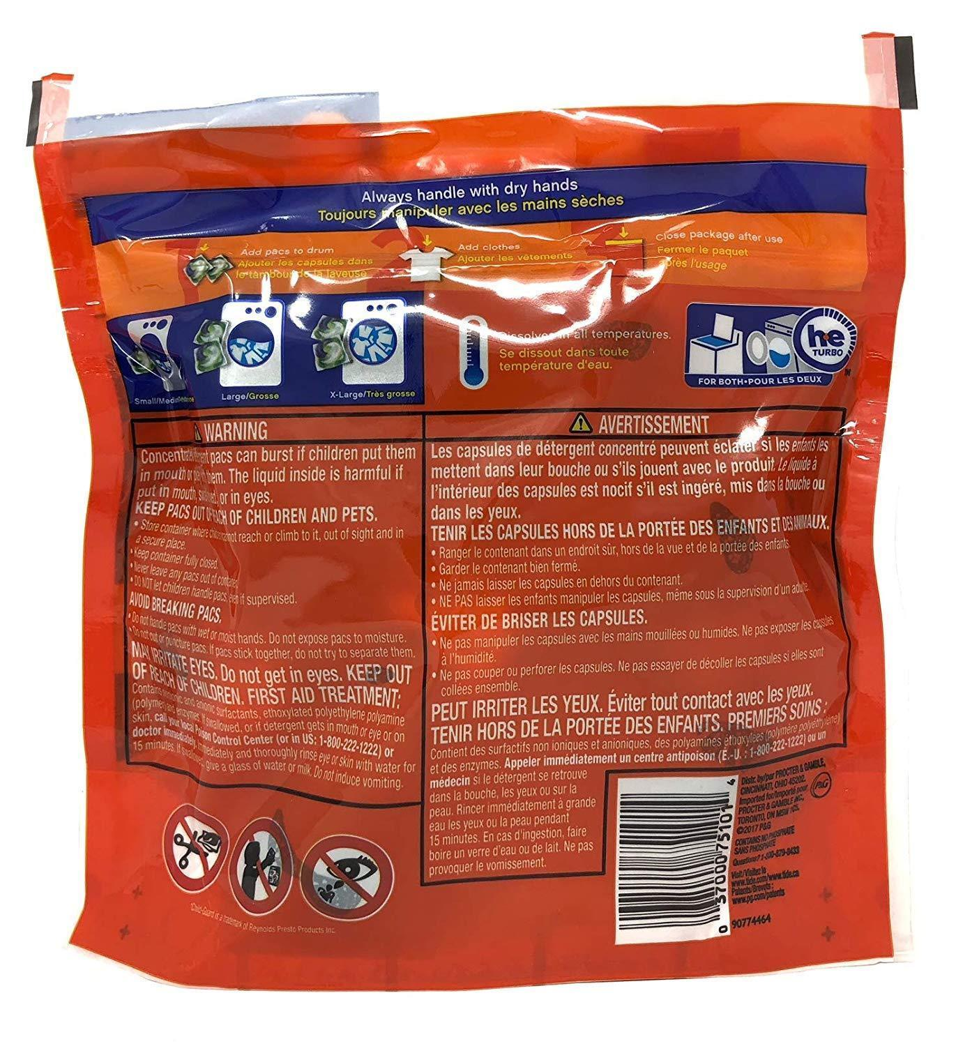 Tide Plus Pods Laundry Detergent 4In1 With Ultra Oxi 2 Packs 12 Ct Each HE Comp