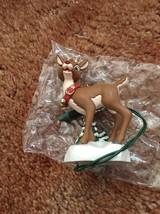 1995  Hallmark Keepsake Ornament Collectors Club - Rudolph Light Up Nose - $23.00