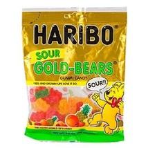 Haribo Sour Gold-Bears Gummi Candy, 3.6-oz. Bag (Pack of 1) - $5.61