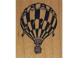 Vintage PSX 1988 Hot Air Balloon Rubber Stamp #C-408