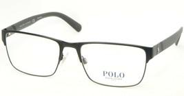 New Polo Ralph Lauren Ph 1175 9038 Matte Black Eyeglasses Frame 56-18-145mm - $74.79