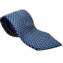 Lauren Ralph Lauren - Blue geometric Tie - 58L 3.5W - $14.84