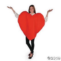 Adult Heart Costume - Standard - $19.36