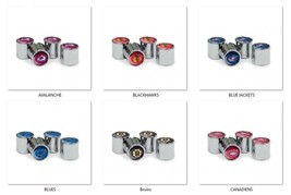 NHL Tire Valve Stem Caps by WinCraft -Select- Team Below - $24.95