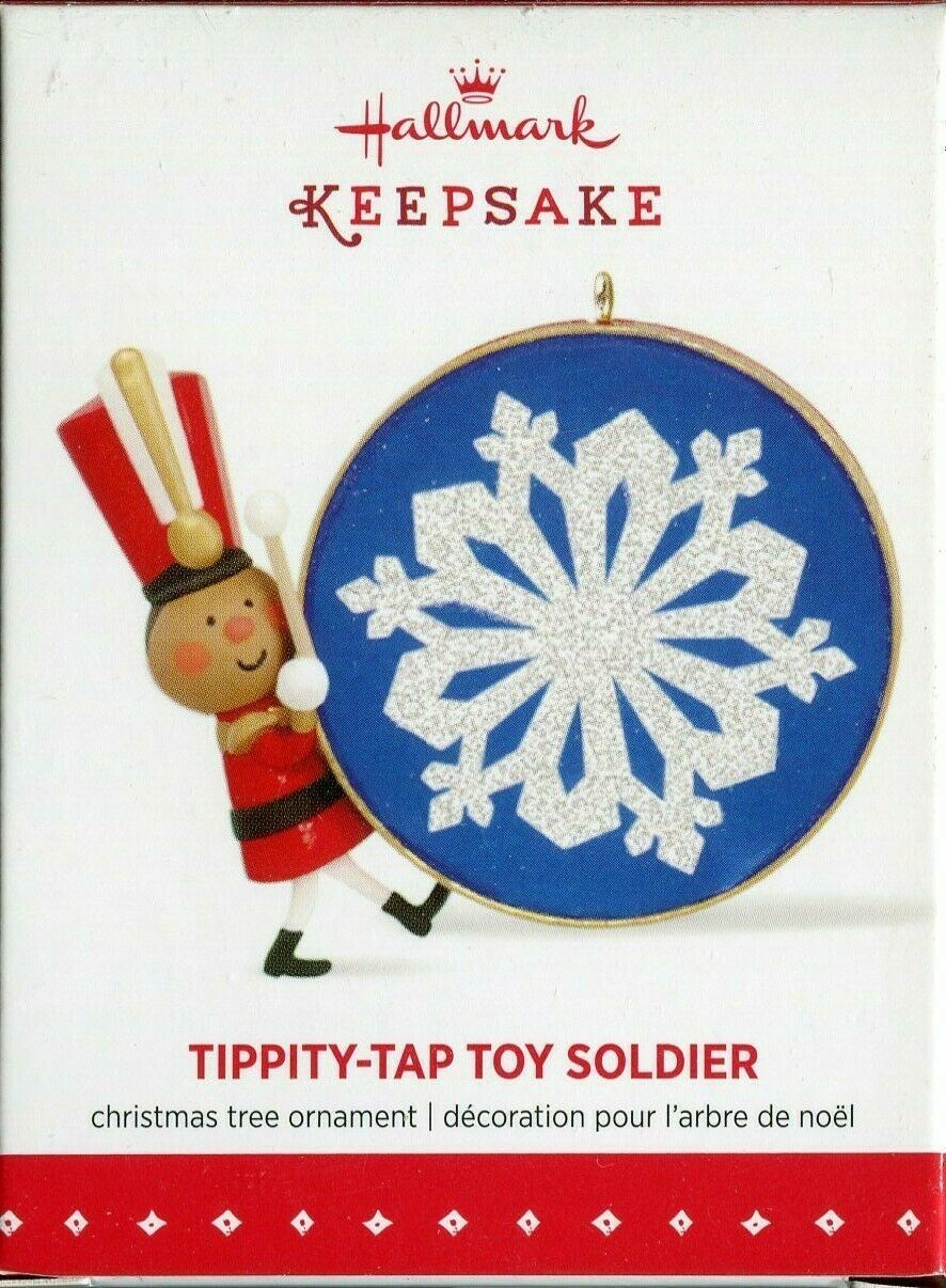 Primary image for 2015 New in Box - Hallmark Keepsake Christmas Ornament - Tippity-Tap Toy Soldier