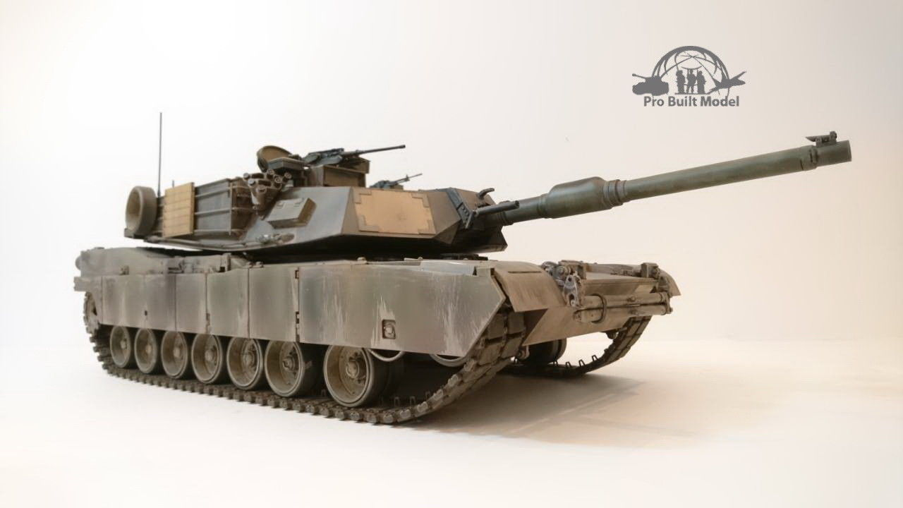 Primary image for US M1A1 AIM MBT 1:16 Pro Built Model