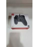 PowerA Nintendo Switch Wired Pro Controller Style Gamepad Black New - $19.99