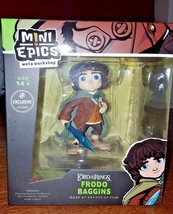 Mini Epics -Lord of the Rings Frodo Baggins Figure Loot Crate Exclusive - $15.99