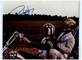 EASY RIDER - JACK NICHOLSON & PETER FONDA Signed Autographed Photo w/COA 3078 - $175.00