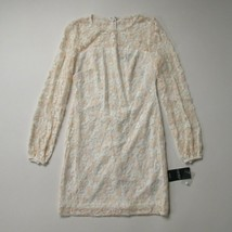 NWT Lauren Ralph Lauren Jappepa Sheath in White Rose Floral Lace Dress 2... - $34.00