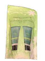 (1) Crabtree & Evelyn Pear & Pink Magnolia Body Wash & Body Lotion Kit - $23.36