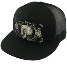 97d6a17e Lucky 13 Dead Skull Tattoos Goth Punk Biker Trucker Snapback Cap Hat LCS.