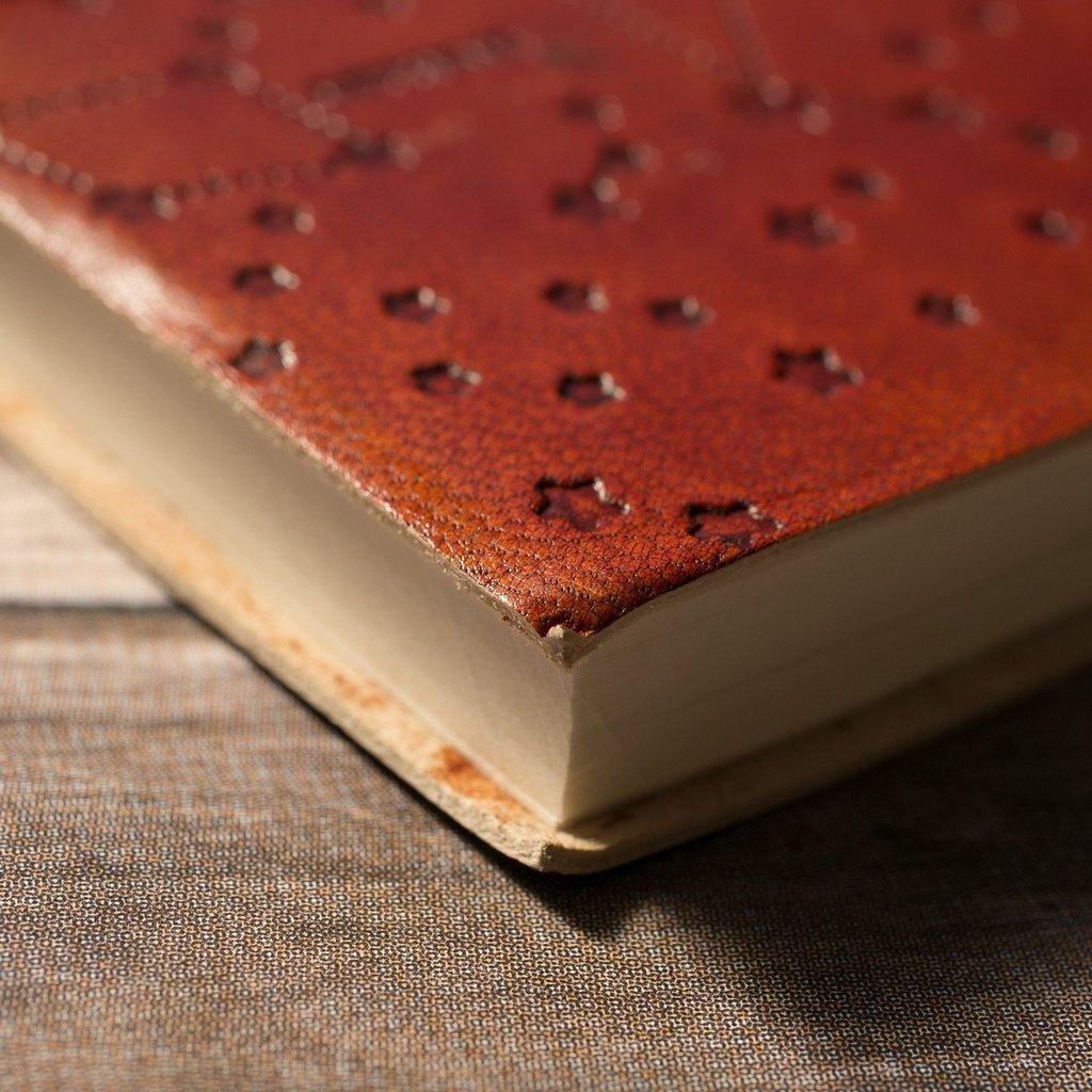 Aries Zodiac Handmade Leather Journal