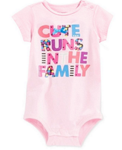 First Impressions Infant's Graphic Bodysuit, Pink, 24 Months - $12.86