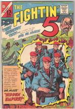 The Fightin' 5 Comic Book #36, Charlton Comics 1966 FINE-/FINE - $8.33