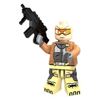 1 Pcs Super Hero Action Figures X Force With Weapon Fit Lego Building Bl... - $6.99