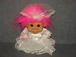 """Russ Troll Doll: 8"""" Bride Wedding Dress Garter - $14.00"""