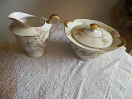 Theodore Haviland (New York) Rosalinde cream and sugar 1 available - $47.03