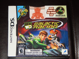 New! Ben 10: Galactic Racing Nintendo DS Free Shipping Free Glow-In-The Dark Toy - $19.79