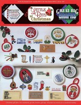 Little Bits For Christmas Cross Stitch Pattern Leaflet NEW Great Big Graphs - $2.67