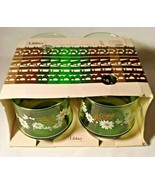 Libbey Belaire style Rocks Glasses Item #284 Vintage Daisies New in Box ... - $26.17