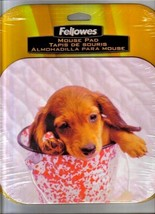 Fellowes Mouse Pad Dog Pup Puppy Sponge Spatter Ware New In Package - $9.85
