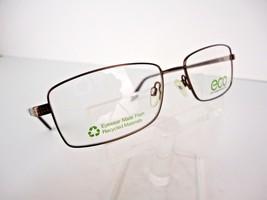 Earth Conscious Optics (ECO) Mod 1044 (BWN) Brown 55  x 17   Eyeglass Frame - $19.75