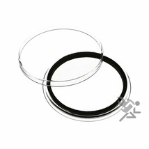 (15) Air-tite 42mm Black Ring Coin Holder Capsules - $11.95