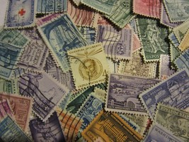 OLDER US postage stamp lot *ALL DIFFERENT USED* 3  AND 4 CENTS FREE SHIP... - $5.93