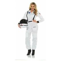 Underwraps Buchse Astronaut Nasa Weiß Erwachsene Damen Halloween Kostüm ... - $33.12
