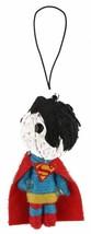 """Dc Comics 2.5 """" Superman Corde Poupée Porte-Clé Voodoo Breloque Téléphone Figure image 1"""