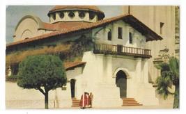 CA San Francisco Mission Delores Vntg Claifornia Gray Line Tours Postcard 1950s  - $5.50