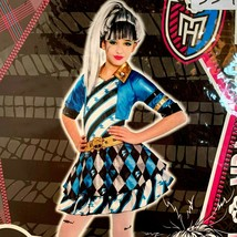 Monster High Costume Frankie Stein Deluxe Cosplay Dress-up XL 14-16 NEW - $38.79