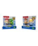 Disney Pixar Toy Story 4 Little People Jessie Rex Woody Bo Peep Figures - $26.72