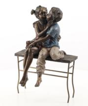 children sitting on the bench, Big sculpture. - $149.00