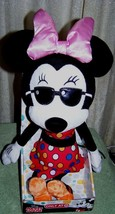 """Disney Minnie Mouse with Sunglasses 18"""" Plush New - $16.50"""