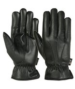 Medium Size Mens Warm Winter Gloves Dress Glove Thermal Lining Genuine L... - $35.64