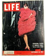 LIFE Magazine VTG September 26 1960 RARE Sample Copy JFK Jackie O Nixon ... - $26.61