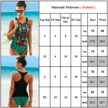 Womens Summer Swimwear Tankini Bikini Set Padded Swimsuit Bathing Suits Costume image 3