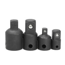 4pcs Socket Converter Set Bit Drive Socket Impact Adapter Converter Reducer - $13.25 CAD
